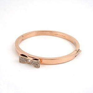 NEW • Kate Spade • Rose Gold Bow Bracelet
